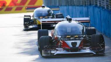 Meski Kecelakaan, Balap Mobil Formula 'Tanpa Sopir' Catatkan Sejarah