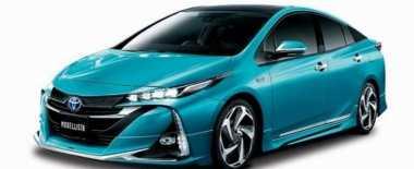Toyota Pamerkan Prius Baru Racikan Tuner TRD & Modellista