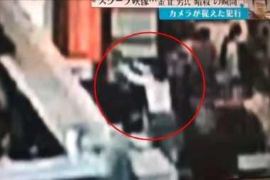 VIDEO: Rekaman Kamera Pengawas Detik-Detik Pembunuhan Kim Jong-nam