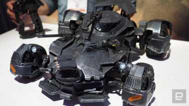 'Mobil Batman' Berteknologi Augmented Reality, Mau?