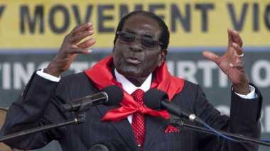 100 HARI TRUMP: Untuk Pertama Kalinya Robert Mugabe Dukung Presiden AS