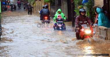 JAKARTA BANJIR: Begini Kondisi Banjir di Sebagian Wilayah yang Terendam