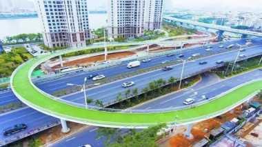 \Keren! China Luncurkan Jalur Sepeda Layang Sepanjang 8 Km\