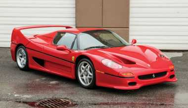 Ferrari F50 Bekas Mainan Mike Tyson Ini Ditaksir Laku Rp32 Miliar