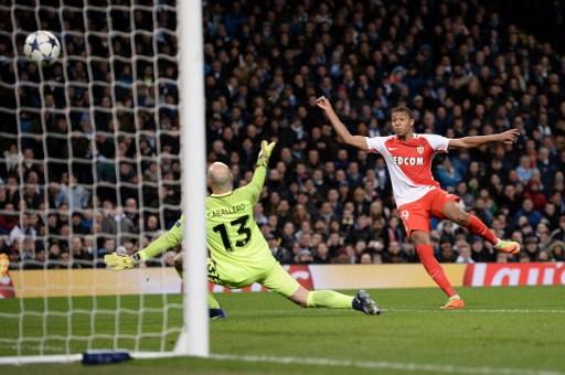 AS Monaco Permak Manchester City 2-1 di Babak Pertama