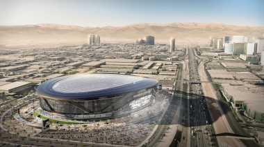 \Stadion Berbentuk Mangkok di Las Vegas Bisa Tampung 65 Ribu Penonton\