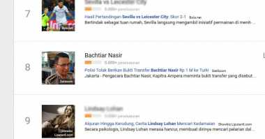 Nama Bachtiar Nasir Ramai Dicari di Google