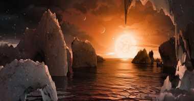NASA Temukan 7 Planet Baru Seukuran Bumi, 3 Layak Huni