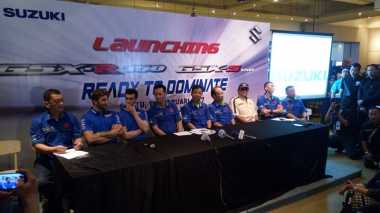 Resmi Meluncur di Indonesia, Suzuki GSX-R150 dan Suzuki GSX-S150 Hadir di Pameran 39 Kota