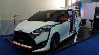 Tampang Manis Toyota Sienta Diubah Jadi Sporty
