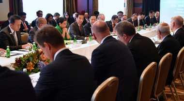 \Ke Australia, Jokowi Bahas Sektor Perdagangan hingga Pertanian\