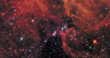 NASA Hubble Rayakan Temuan Supernova 1987A