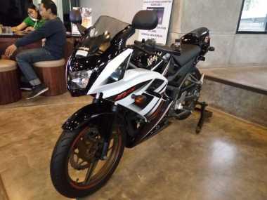 Ninja RR 2-Tak Produksi Terakhir 'Bersemayam' di Surabaya