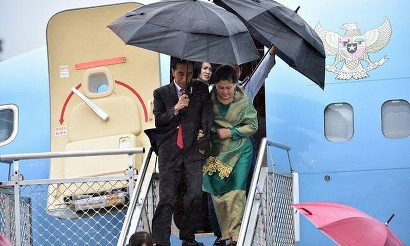 Hari Terakhir di Australia, Presiden Jokowi Disambut Upacara Kenegaraan di Admiralty House