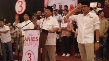 Prabowo Sebut Dukungan Titiek Soeharto ke Anies-Sandi Natural