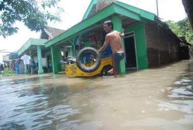 3 Desa di Mojokerto Masih Terendam Banjir, Warga Butuh Makanan Siap Saji