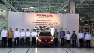 Mobilio RS Jadi Mobil Honda Ke-1 Juta yang Diproduksi di Indonesia