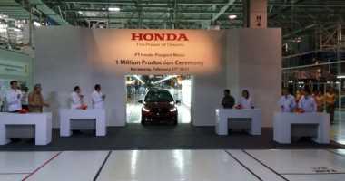 Rayakan Produksi Mobil Ke-1 Juta, Kemenperin Ajak Honda Tambah Investasi