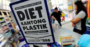 \Uji Coba Pembatasan Kantong Plastik, Impor Turun USD11 Juta\