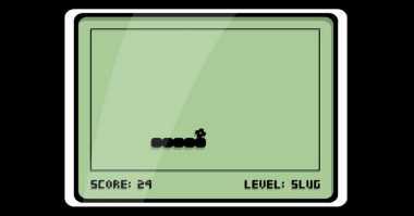 Nostalgia Game Snake Bisa Dimainkan di PC