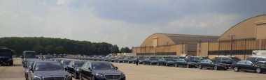 Raja Salman dan Ratusan Unit Mercy S Class