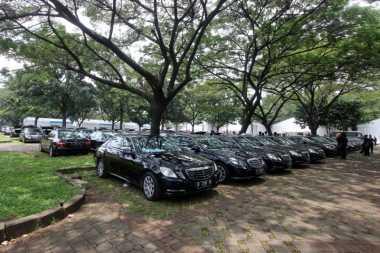 Penampakan 300 Mobil Mewah untuk Rombongan Raja Salman di Jakarta