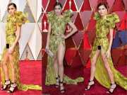 OSCAR 2017: <i>Astaga,</i> Blanca Blanco Pakai Gaun Pamer Miss V di <i>Red Carpet</i>