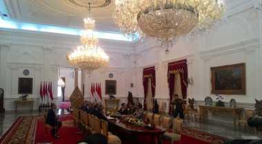 \Presiden Jokowi Terima Kunjungan Delegasi Menlu Prancis Secara Tertutup\