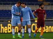 Lazio Unggul Tipis atas Roma di Babak Pertama