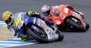 Valentino Rossi dan Casey Stoner Raja di Sirkuit Losail