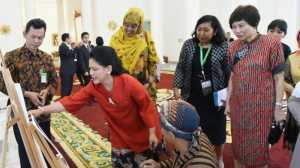 Presiden Jokowi Pimpin Diskusi, Ibu Negara Jamu Istri Peserta IORA