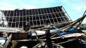 Puting Beliung Terjang 2 Desa di Tulungagung, Satu Rumah Rata dengan Tanah