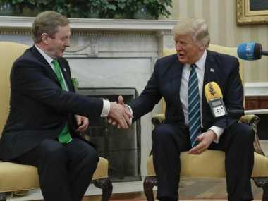 100 HARI TRUMP: PM Irlandia Temui Trump di Gedung Putih