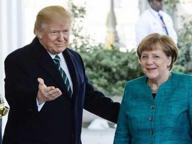 100 HARI TRUMP: Trump Sambut Kanselir Jerman di Gedung Putih