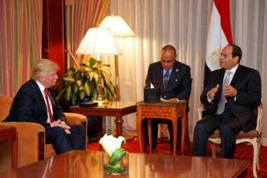Donald Trump Akan Terima Presiden Mesir pada 3 April