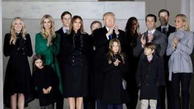 100 HARI TRUMP: Presiden AS Dianugerahi Cucu Kesembilan