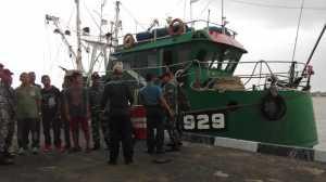 Tim KKP Tangkap 94 ABK Bersama 13 Kapal Ikan Berbendera Vietnam di Laut Natuna