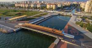 Jembatan di Pinggir Teluk Ini Bisa Lihat Indahnya Matahari Terbenam