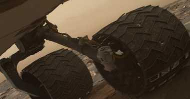 NASA Temukan Kerusakan di Roda Curiosity