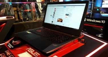 Tantang Acer & MSI, Asus Daratkan Notebook Gahar ROG GX800