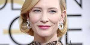 Cate Blanchett Ungkap Rahasia Awet Muda dengan Facial Spray
