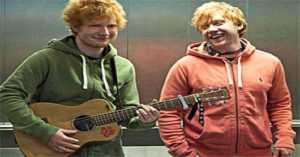 Kocak, Ini Gaya Rupert Grint Tirukan Ed Sheeran