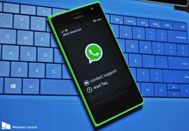 Update Status Teks Kembali di WhatsApp Windows 10