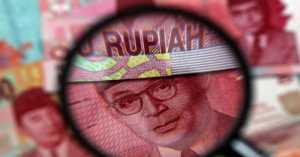Rupiah Rp13.326, Menguat Tipis di Pasar Asia