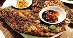 RESEP NENEK: Akhir Pekan Makan Siang Spesial dengan Baronang Bakar Khas Makassar