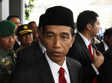 \Ke Batam, Jokowi Tinjau Pembangunan Bendungan Sei Gong\