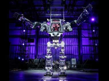 Teknologi Antariksa: Robot Raksasa yang Ditunggangi 'Raja' Amazon