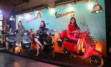 Vespa LX & S dengan Mesin Baru Meluncur di Indonesia