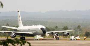 Pesawat Militer Amerika Serikat Mendarat Darurat di Bandara SIM Aceh