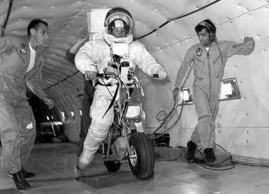 NASA Pernah Jajal Sepeda Motor untuk Digunakan di Bulan, Hasilnya?
